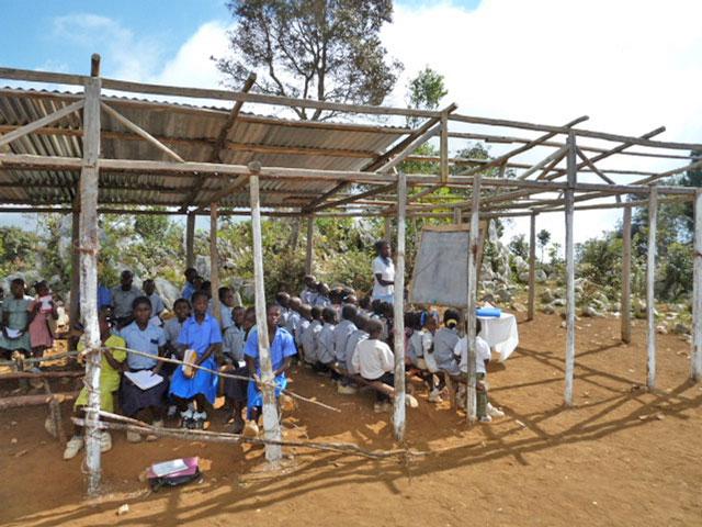 Haiti Schule