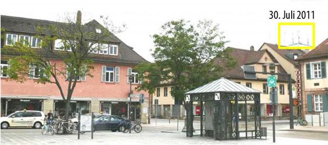 Bahnhofsplatz Erlangen