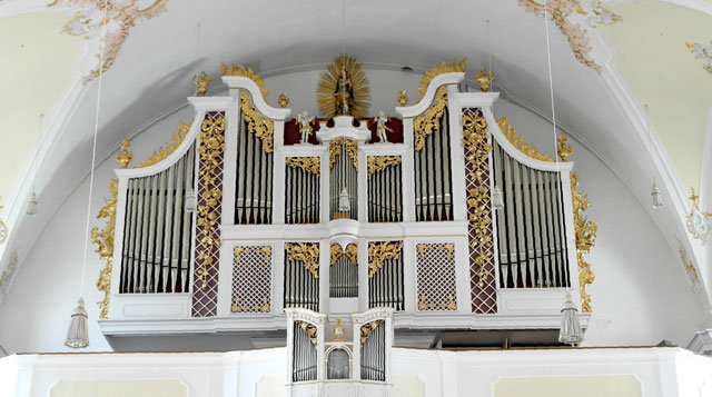 Kirchenorgel Stadtpfarrkirche Mariae Himmelfahrt