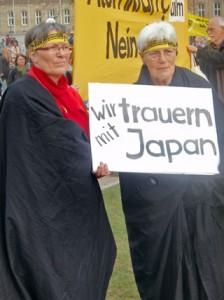 Demo für den Atomausstieg Stuttgart