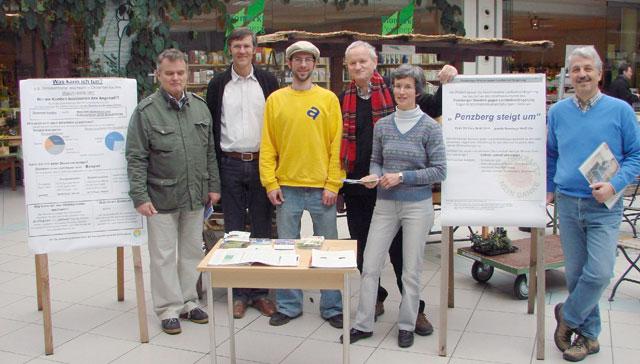 Penzberg steigt um Ökostrom
