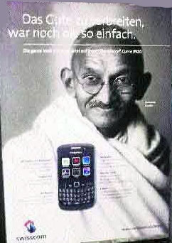 Mahatma Gandhi Swisscom