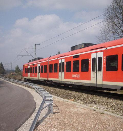 Huglfing-Engstelle Bahn