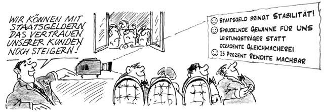 Cartoon: Hubert Pfeffer