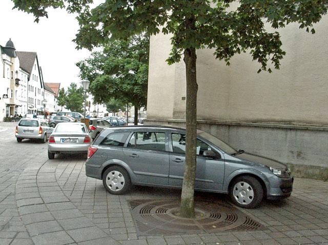 Marienplatz Autos Parken