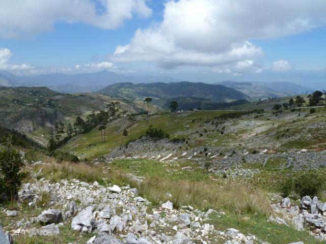 Haiti Berge