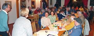 Foto: Publikum, Diskussionsrunde nach Vortrag