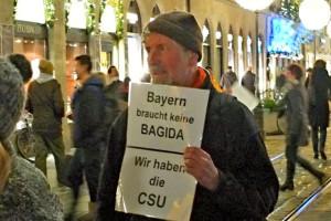 Foto: Bayern braucht keine BAGIDA – Wir haben die CSU