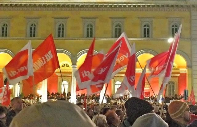 Foto: Demonstration PEGIDA