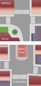 Pläne zur Verbesserung der Aufenthaltsqualität in der Schongauer Altstadt aus den 1990er Jahren – in ähnlicher Form auch vorgelegt vom Seniorenbeirat – vermodern nach wie vor in der Schublade.