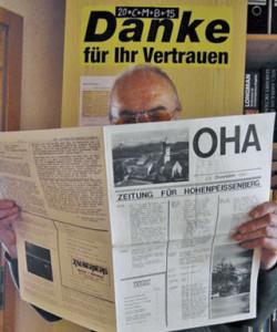 Die erste OHA-Ausgabe vom 27.12.1981