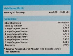 In Ingolstadt: Im beruhigten Altstadtbereich bis 30 Minuten kostenfrei!