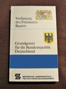 Foto Bayerische Verfassung