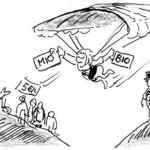 Rettungsschirm Cartoon