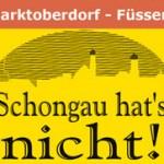 Schongau hat's nicht Fußgängerzone