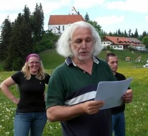 Hans Schütz Auerberg Grabungstechniker