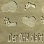 Fußabdrücke: Der OHA bleibt auch 2011 in seiner Spur