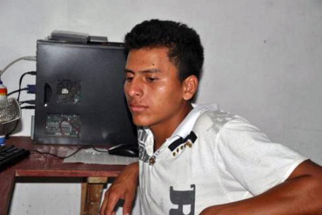 Jugendlicher in Zacate Grande, Honduras