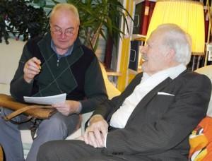 Sigi Müller und Herwarth Stadler