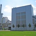 Biomassenheizkraftwerk in Augsburg