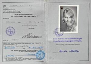 Führerschein Renate