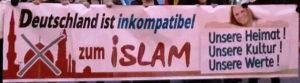 Banner: Demo Pegida