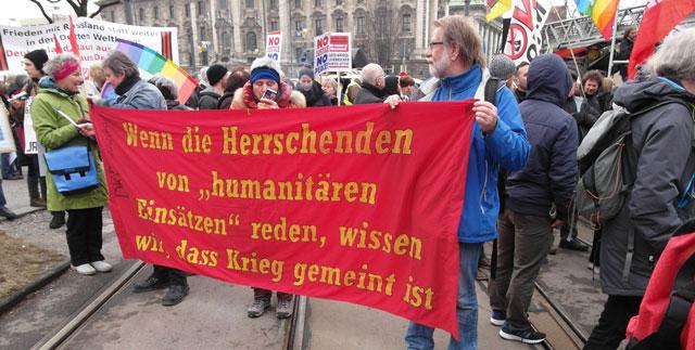 Foto Sicherheitskonferenz Demo