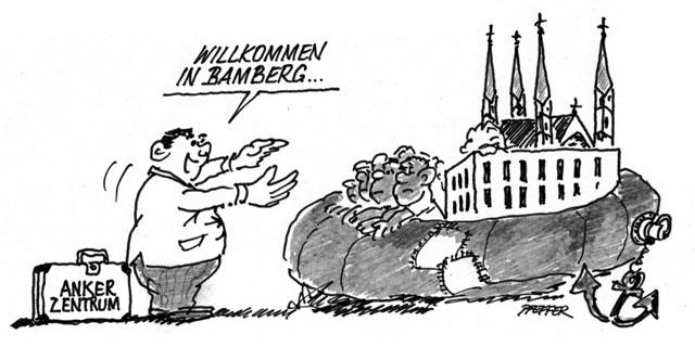 Titel Hubert Pfeffer Ankerzentren